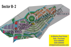Bahria-enclave-Sector-B1-B2-Map