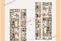 D 8 Heights Gulberg Islamabad Floor Plan 4th to 6 th