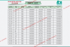 D 8 Heights Gulberg Islamabad Payment Plan 4th  to 6th