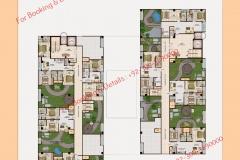 D 8 Heights Gulberg Islamabad Floor Plan 8th