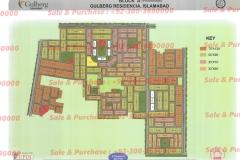Gulberg Islamabad Block-A Map