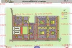 Gulberg Islamabad Block-AA-1 Map