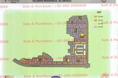 Gulberg Islamabad Block-AA-2 Map