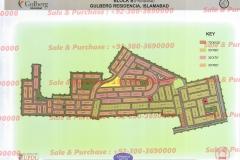 Gulberg Islamabad Block-B Map