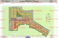 Gulberg Islamabad Block-C Map