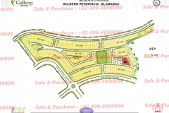 Gulberg Islamabad Block-E Map