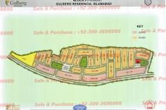 Gulberg Islamabad Block-F Map