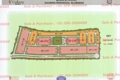 Gulberg Islamabad Block-G Map