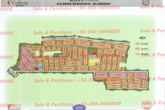 Gulberg Islamabad Block-H Map
