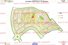 Gulberg Islamabad Block-I Map