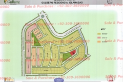 Gulberg Islamabad Block-J Map