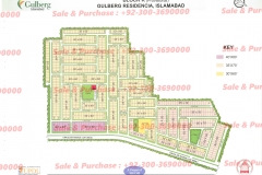 Gulberg Islamabad Block-K Map