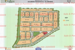 Gulberg Islamabad Block-M Map