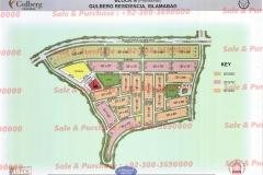 Gulberg Islamabad Block-N Map