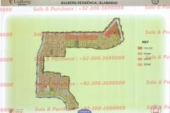 Gulberg Islamabad Block-P-1 Map