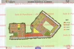 Gulberg Islamabad Block-P-2 Map