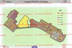 Gulberg Islamabad Block-P-3 Map