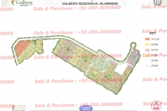 Gulberg Islamabad Block-P-4 Map