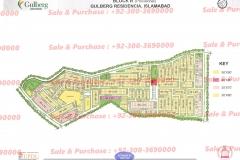 Gulberg Islamabad Block-R Map