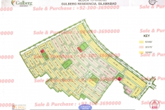 Gulberg Islamabad Block-T Map