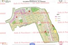 Gulberg Islamabad Block-V Map