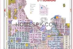 E-11 islamabad Map