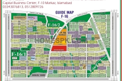 F-16 Islamabad Map