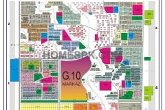G-10 Islamabad Map