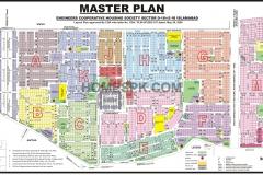 ECHS D-18 Islamabad Map