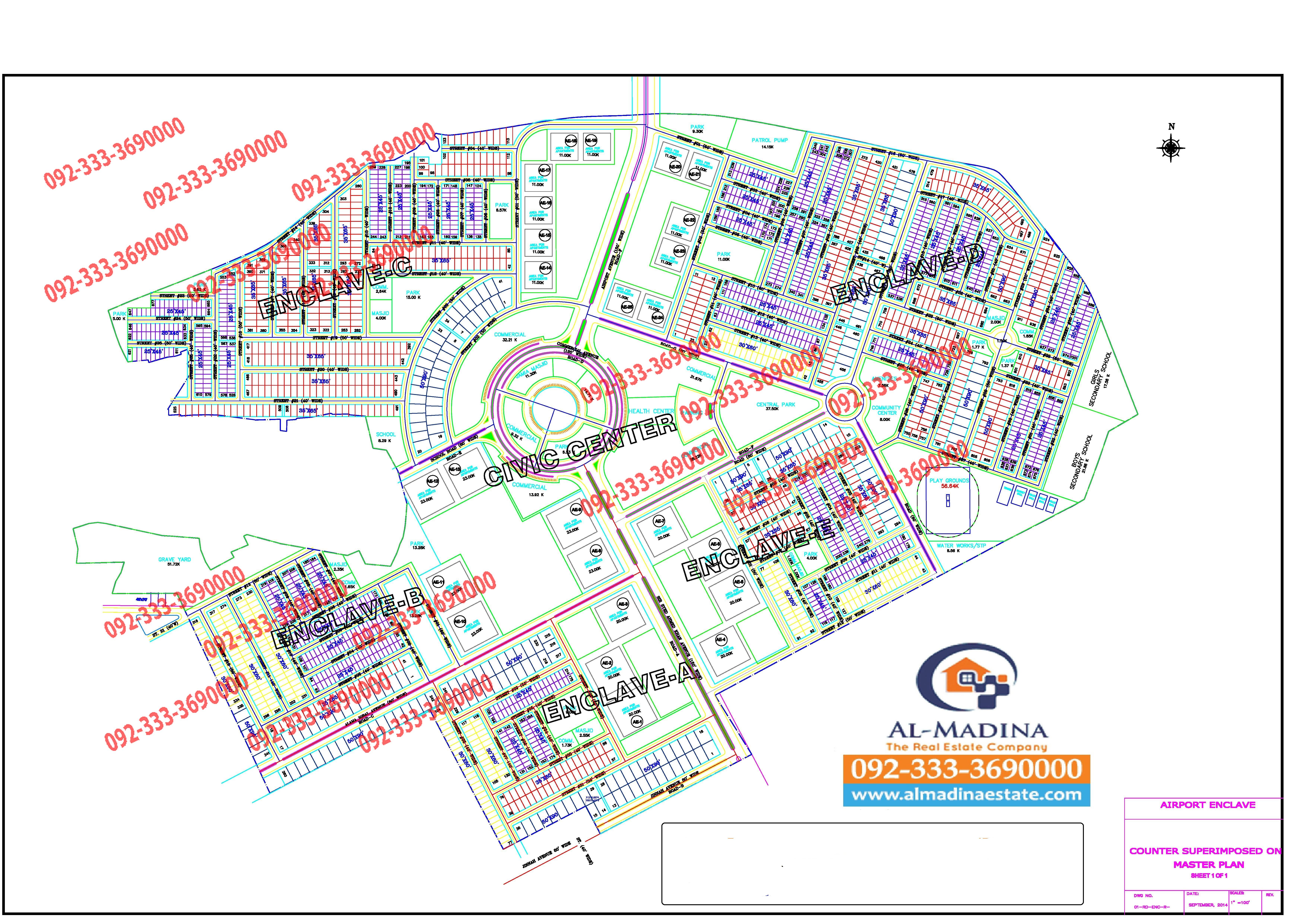 Islamabad maps - Gulberg Islamabad, Bahria Town, Dha, Cda ...