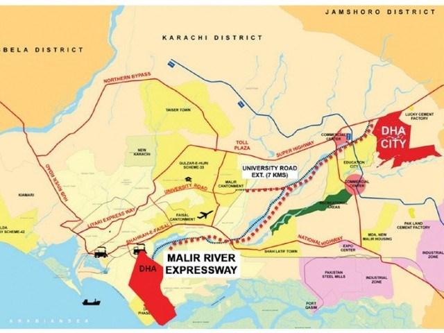 Malir_motorway