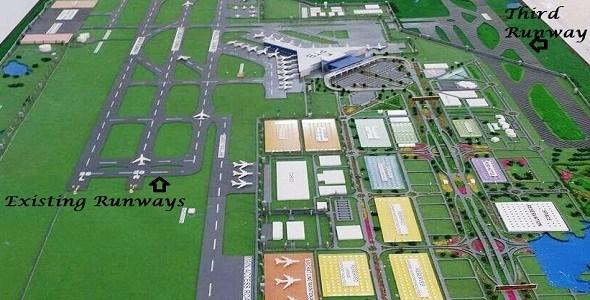 New islamabad (NIIA-Third-Runway-location)