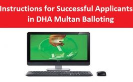 General-Instructions-DHA-Multan