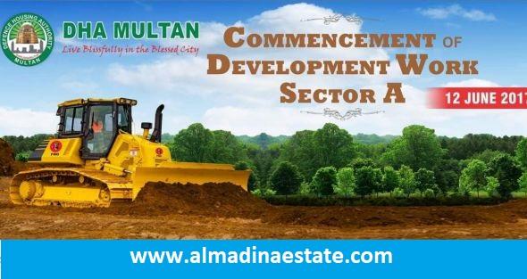 Dha Multan sector A development