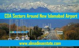 CDA Sectors around new Islamabad Airport