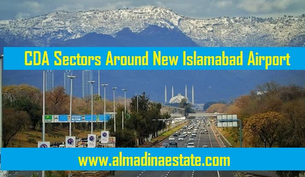 CDA Sectors around new Islamabad Airport