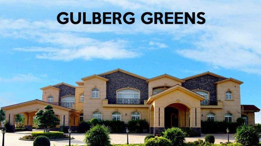 Gulberg Greens Islamabad 4 kanal Corner farm House For Sale