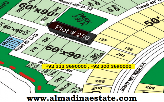 FOECHS Islamabad - 600 Square Yards Corner Plot For Sale