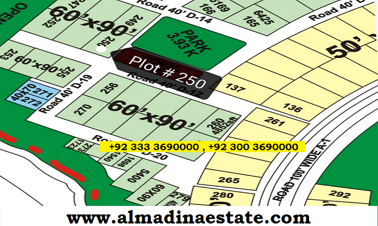 FOECHS Islamabad - 600 Square Yards Corner Plot For Sale
