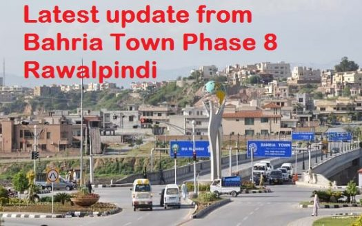 Latest update from Bahria Town Phase 8 Rawalpindi