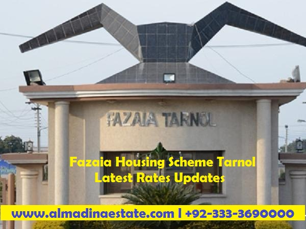 Fazaia Housing Scheme Tarnol Latest Rates Updates