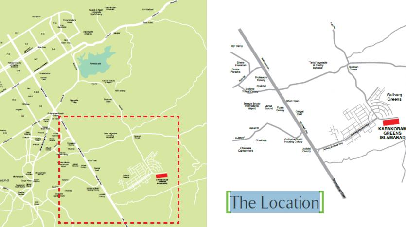 Karakoram Greens location