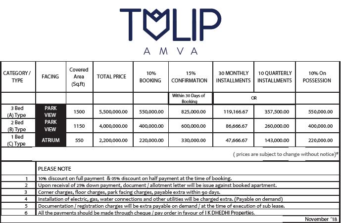 tulip apartments