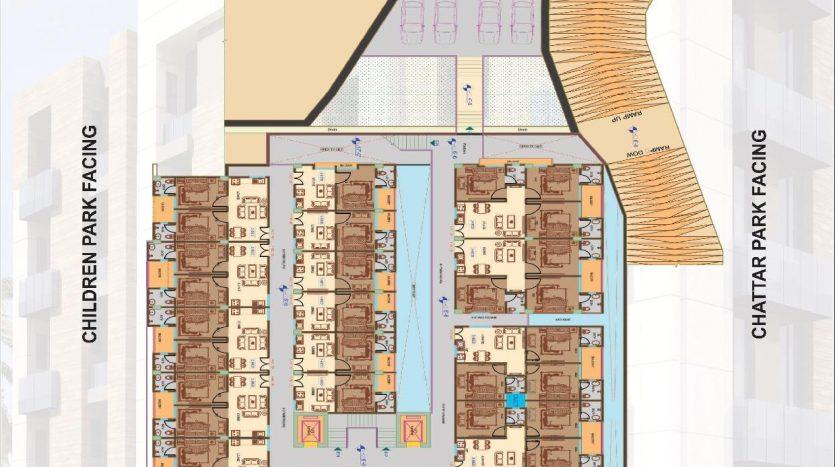 Tulip apartments 2nd & 3rd Floor Plan
