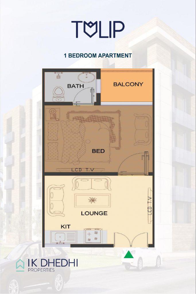 tulip Apartments 1 Bedroom