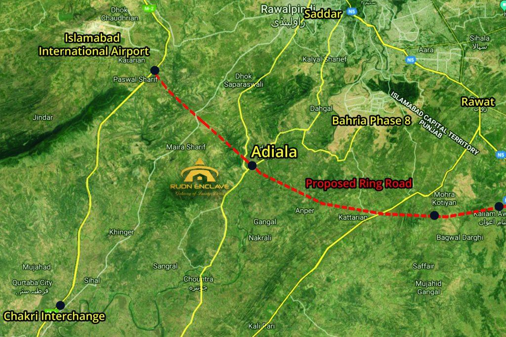 Rudn Enclave location