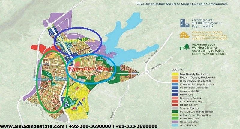 capital smart city overseas block executive block general block