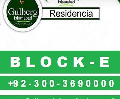 block e gulberg residencia Islamabad