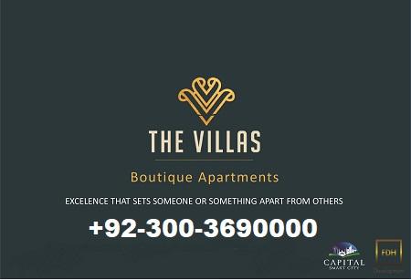 The villas Boutique Apartments Capital Smart City