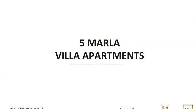 5 Marla Villa Apartment